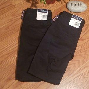 Chaps uniform shorts 12reg 2pairs